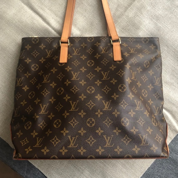 0f4959a20f4 Louis Vuitton Cabas Mezzo Tote with dust cover